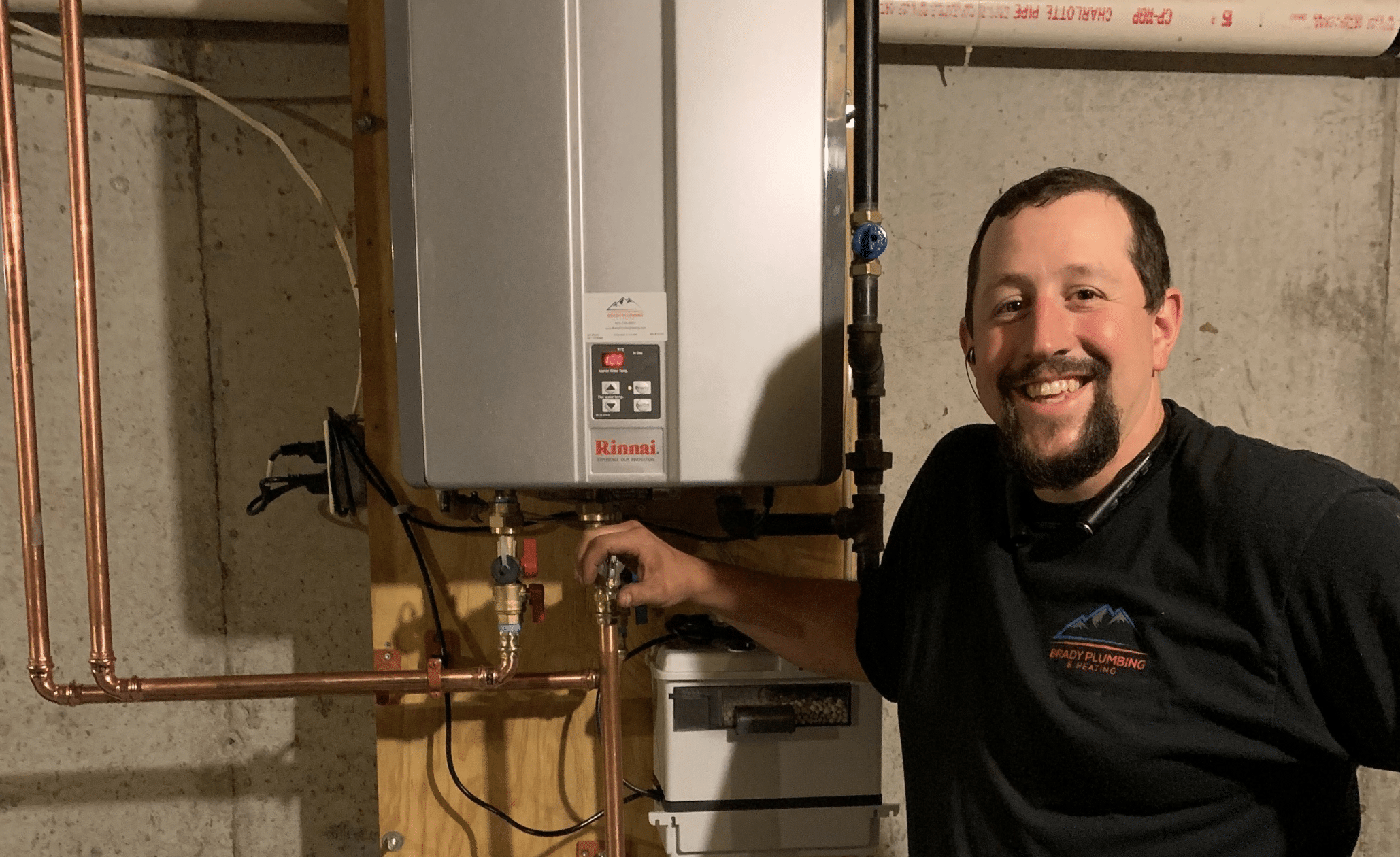 tankless water heater installation service